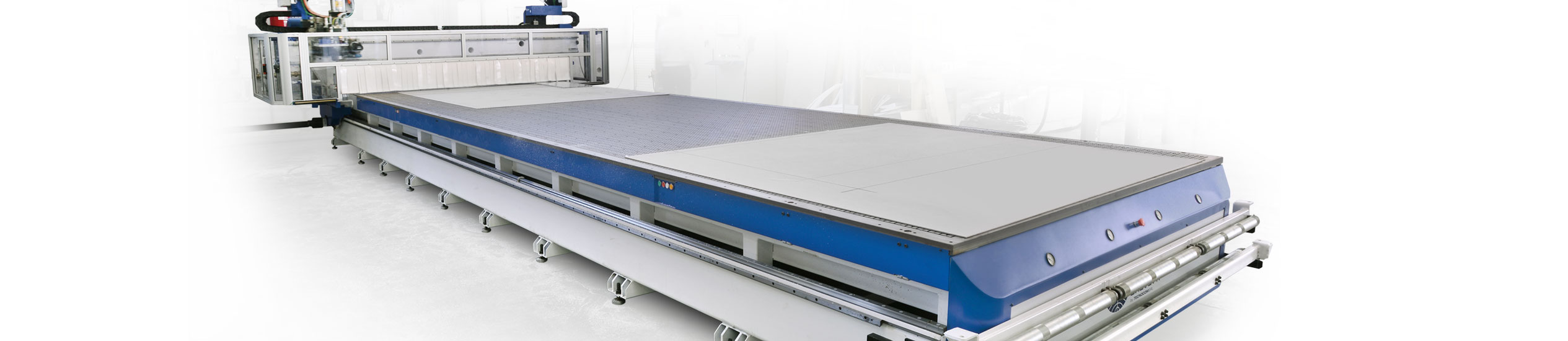 large scale cnc machine - 2530×550
